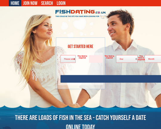 Fish Dating Logo