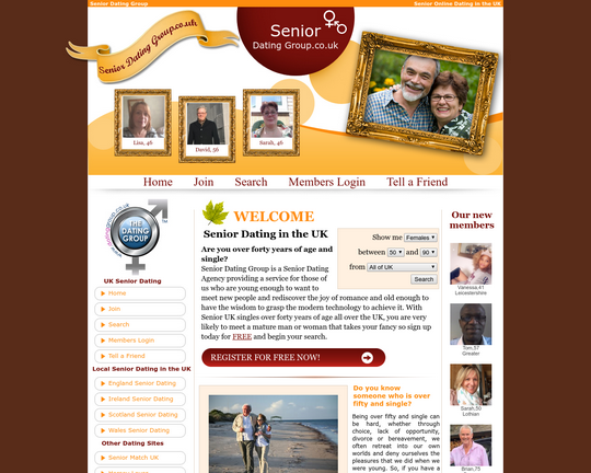 Senior Dating Group